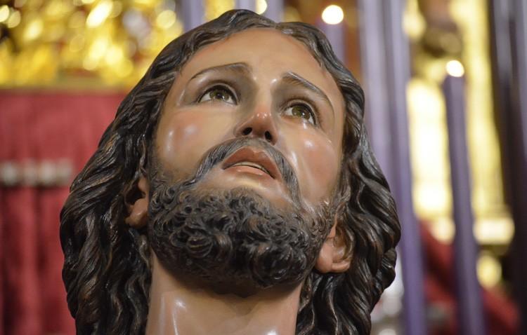 Traslado del Señor Orando en el Huerto con motivo del vía crucis del Consejo de Hermandades