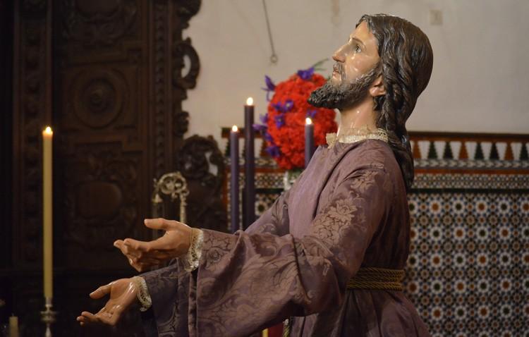 El Señor Orando en el Huerto preside este lunes el vía crucis del Consejo de Hermandades