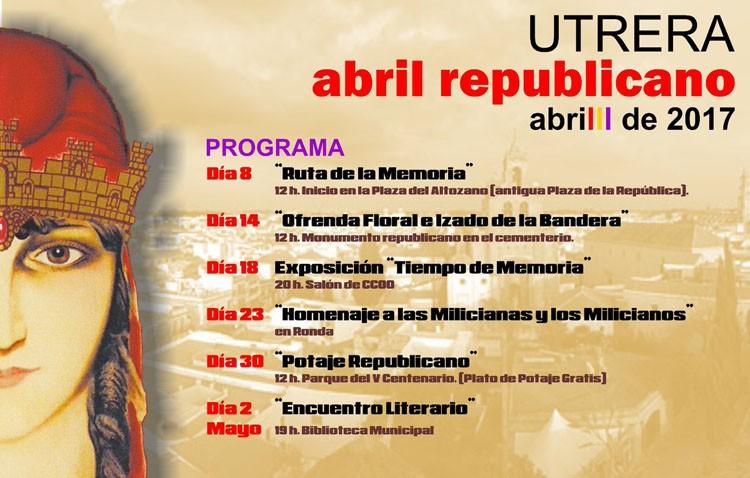 La plataforma «Construyendo ReDpública» organiza media docena de actividades con motivo del «Abril republicano»
