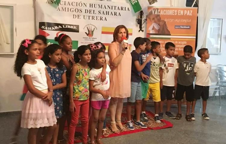La asociación «Amigos del Sahara de Utrera» busca familias de acogida