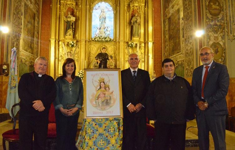 El cartel del «Mayo Mariano» y las pastas al pregonero, inicio del tiempo de las Glorias de María