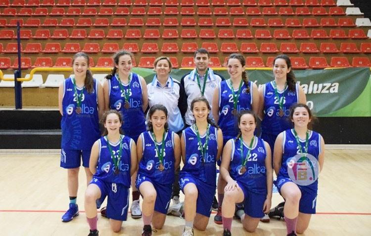 El Club Baloncesto Utrera se despide del Campeonato de Andalucía de Clubes Junior Femenino