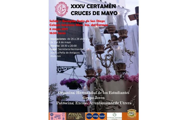 La hermandad de los Estudiantes organiza su certamen de cruces de mayo