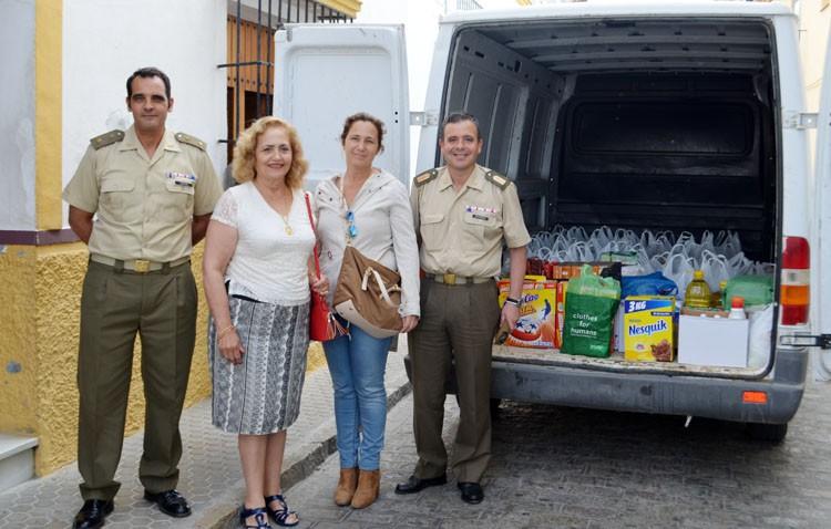 Más de 1.300 kilos de solidaridad para las Hermanas de la Cruz