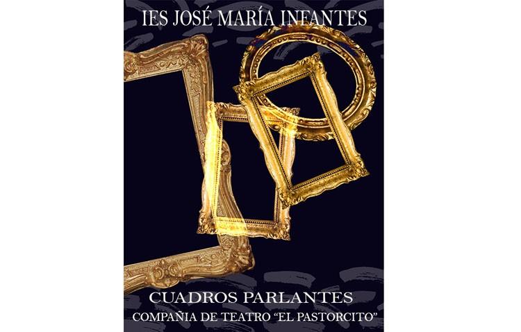 «Cuadros parlantes», una obra teatral del instituto José María Infantes sobre sus obras de arte