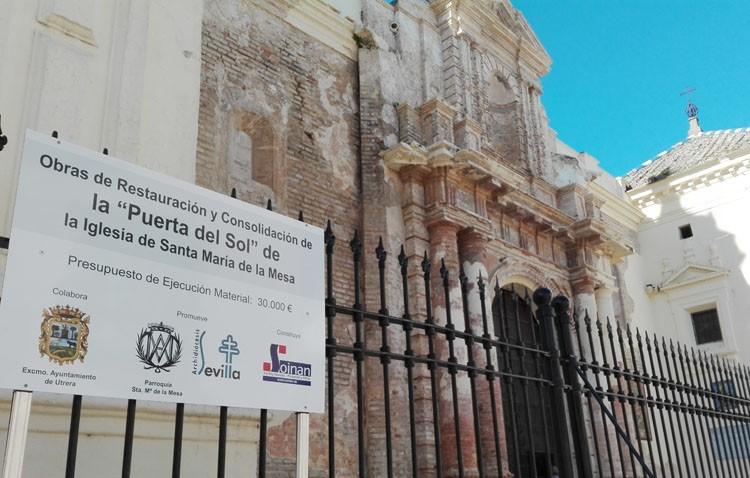 Santa María dejará a la vista su portada lateral y recuperará cuatro ventanas que estaban ocultas
