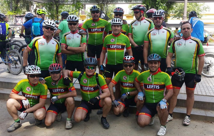 La asociación «Legiones de Leptis», presente en Día Metropolitano de la Bici