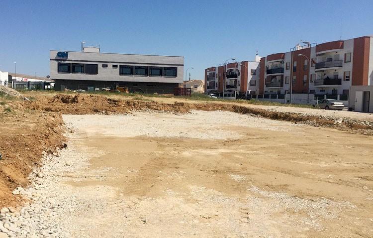 Comienza la construcción de la plaza de patinaje de La Coduva