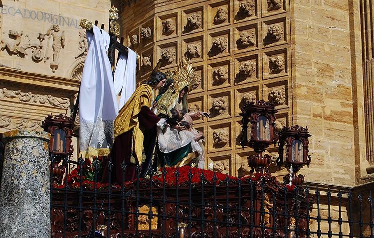La banda «Sayones» de Pozoblanco regresa a Utrera para acompañar a la Quinta Angustia