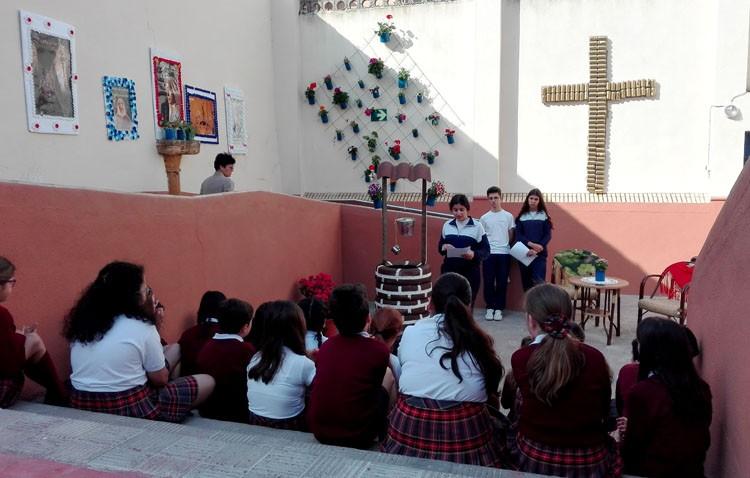 El cuidado del medio ambiente, protagonista en el colegio Sagrada Familia