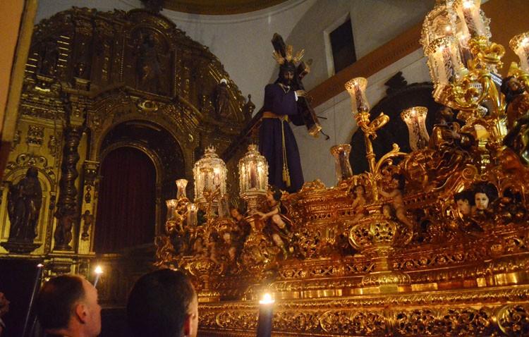 Jesús Nazareno dio su primera «chicotá» hasta el paso (GALERÍA)