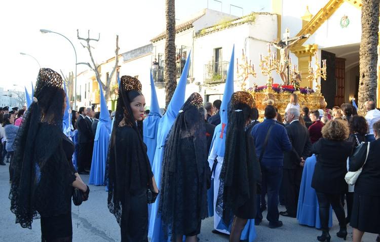 La Semana Santa llega a sus días grandes con 20 horas ininterrumpidas de procesiones en Utrera