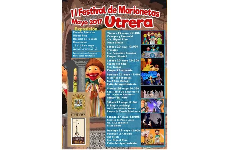 Último fin de semana de actividades en el Festival de Marionetas inicia sus representaciones teatrales