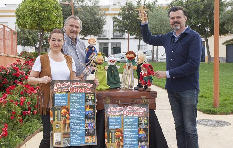 El Festival de Marionetas llega este año a media docena de rincones de Utrera