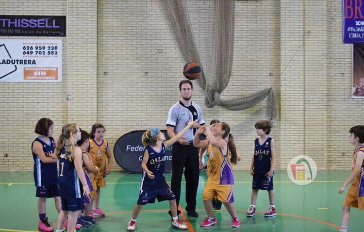 Fiesta en Utrera para celebrar la Final de Babybasket
