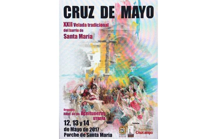 La hermandad de los Aceituneros celebra su tradicional velada de cruz de mayo