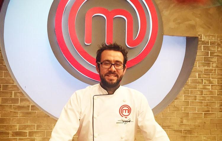 El cocinero utrerano Jesús Escalera, protagonista en MasterChef México