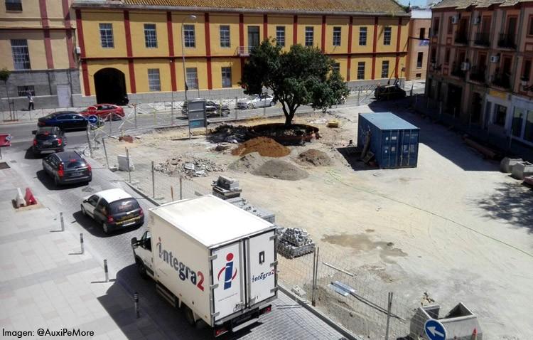 El gobierno local decidirá sobre el tráfico en Álvarez Hazañas y Las Mujeres cuando termine la obra de Pío XII