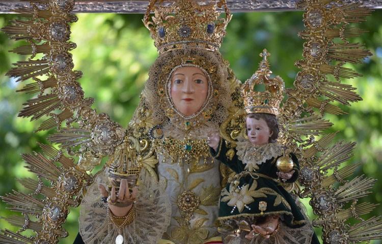 Besamanos a la Virgen de Consolación