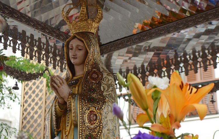 Domingo de romería en honor a la Virgen de Fátima