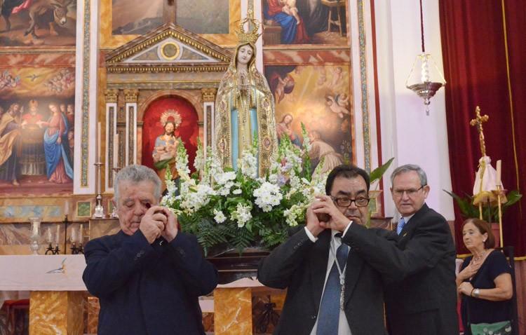 La Virgen de Fátima visitará la parroquia de San José con motivo del centenario de las apariciones
