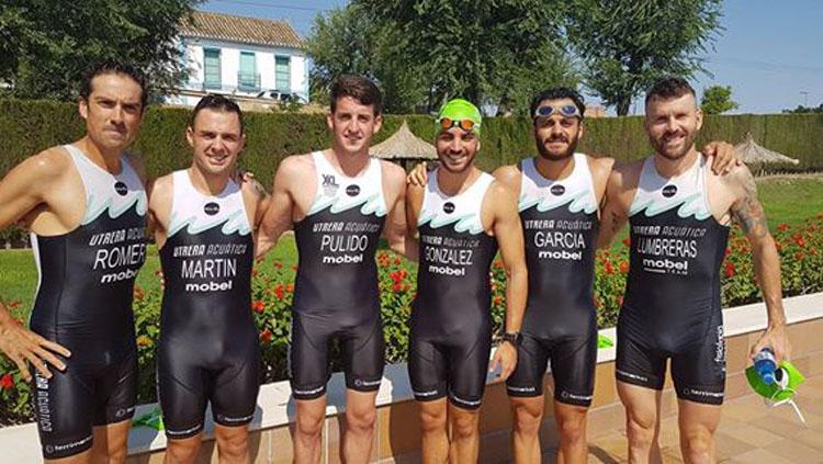 «Utrera Acuática», quinto mejor equipo de triatlón en el Campeonato de Andalucía