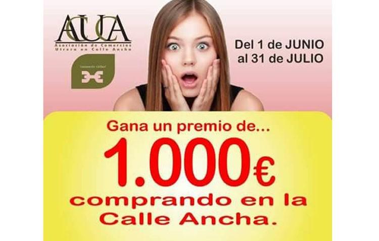 Acuca sortea 1.000 euros para compras en sus comercios