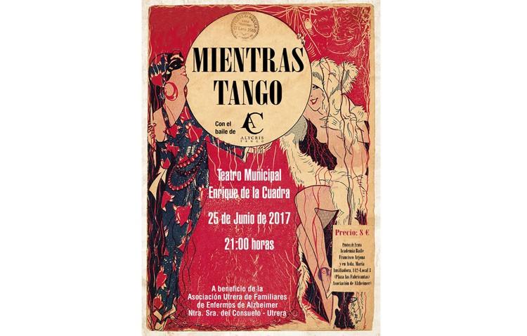 Noche de tango a beneficio de la asociación de familiares de enfermos de Alzheimer