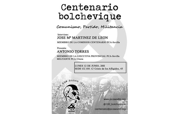 Una charla para recordar el centenario de la revolución rusa