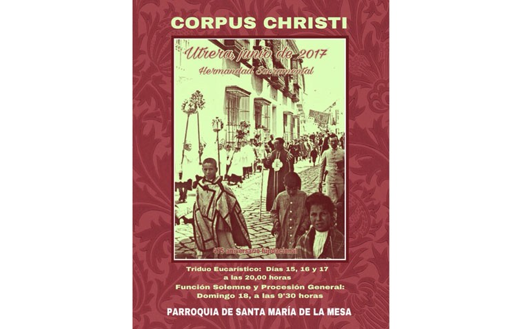 Utrera se prepara para la solemnidad del Corpus Christi