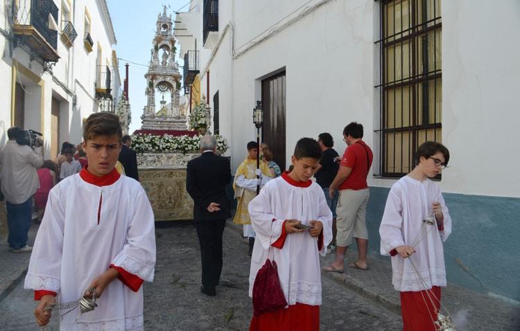 Utrera se prepara para vivir un año más la fiesta del Corpus Christi