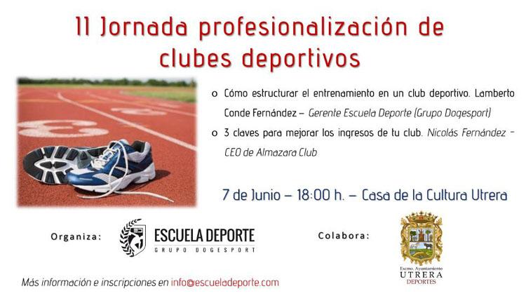 Jornada de profesionalización de clubes deportivos