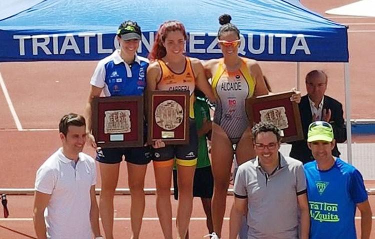 La atleta Irene Alcaide obtiene el bronce en una prueba triatlón