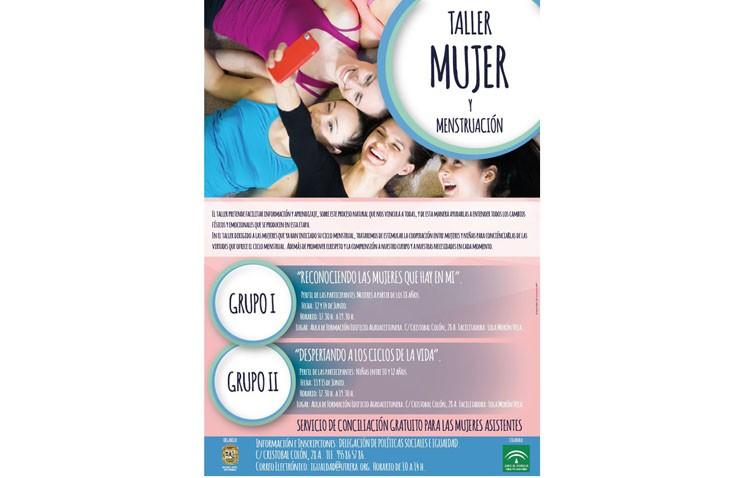 Un taller del Ayuntamiento para «concienciar de las virtudes» de la menstruación a niñas y mujeres