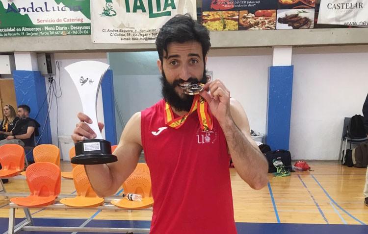 El utrerano Carlos García participará en el Campeonato de Europa Universitario de Baloncesto