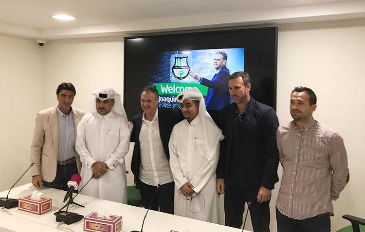 Joaquín Caparrós, nuevo entrenador de un equipo de fútbol de Qatar