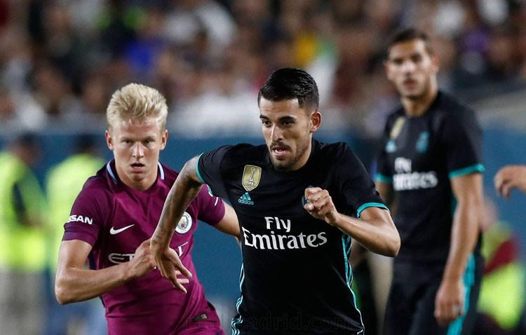 Ceballos debuta con el Real Madrid ante el Manchester City
