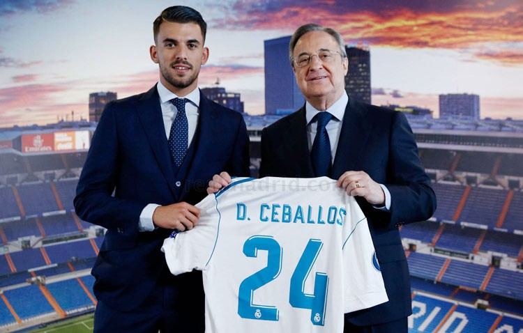 Dani Ceballos, en su presentación en el Real Madrid: «vengo a hacer aún más grande la historia de este club» (IMÁGENES Y AUDIO)