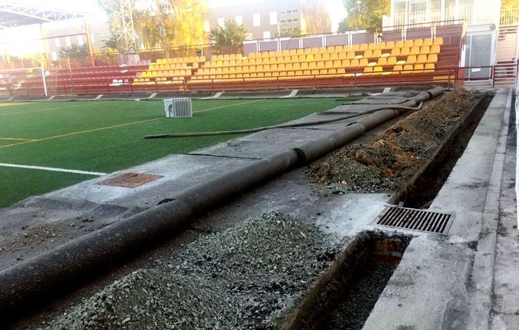 El estadio municipal San Juan Bosco estrenará sistema de riego