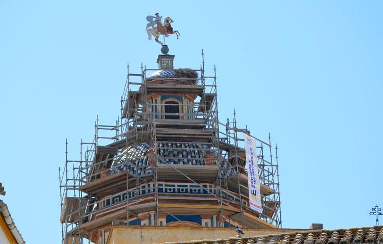 La iglesia de Santiago comienza el camino hacia su rehabilitación