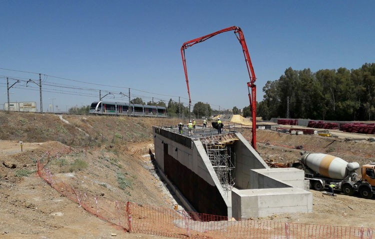Metro de Sevilla suspende este verano su servicio en Montequinto por las obras de ampliación de la línea 1 a Alcalá
