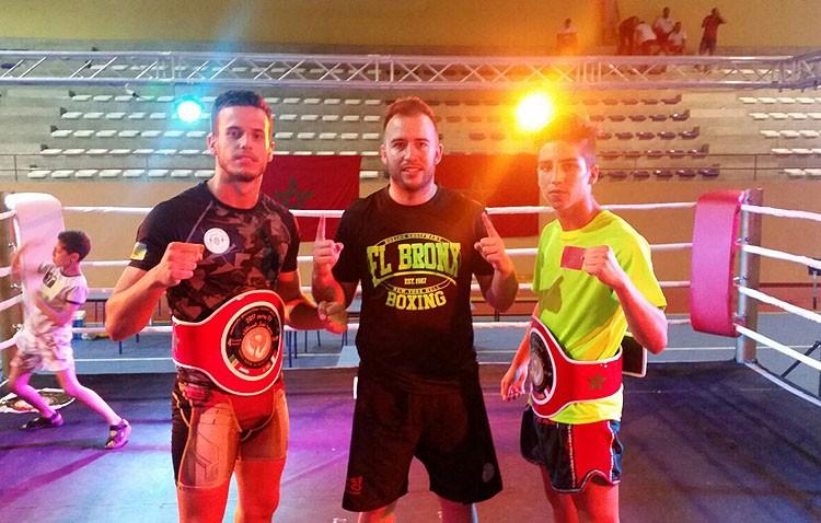 El utrerano Roberto Jiménez triunfa en kick boxing