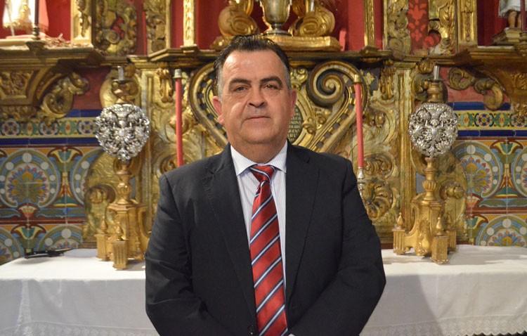 Sebastián Florido, nuevo hermano mayor de la hermandad sacramental de Santa María