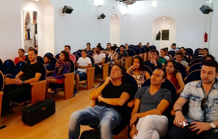 Profesores y alumnos protagonizan el último concierto de «Utrera Suena»
