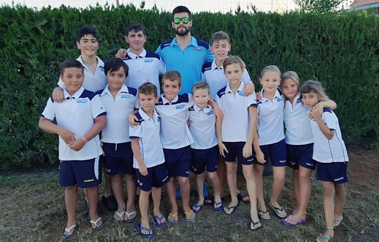 Continúan los buenos resultados para el Club Natación Utrera en el Circuito de Diputación