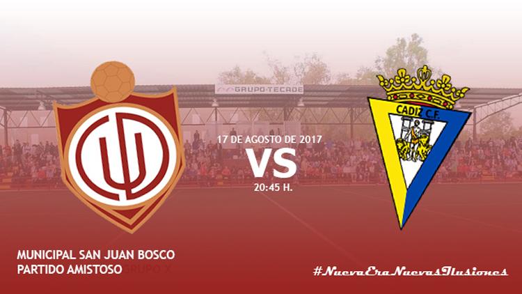 El C.D. Utrera se enfrentará en el San Juan Bosco al filial del Cádiz C.F.