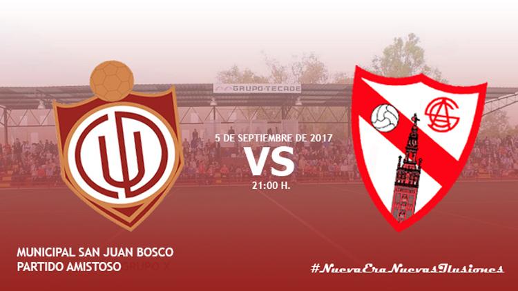 El C.D. Utrera recibirá al Sevilla Atlético en un amistoso el 5 de septiembre