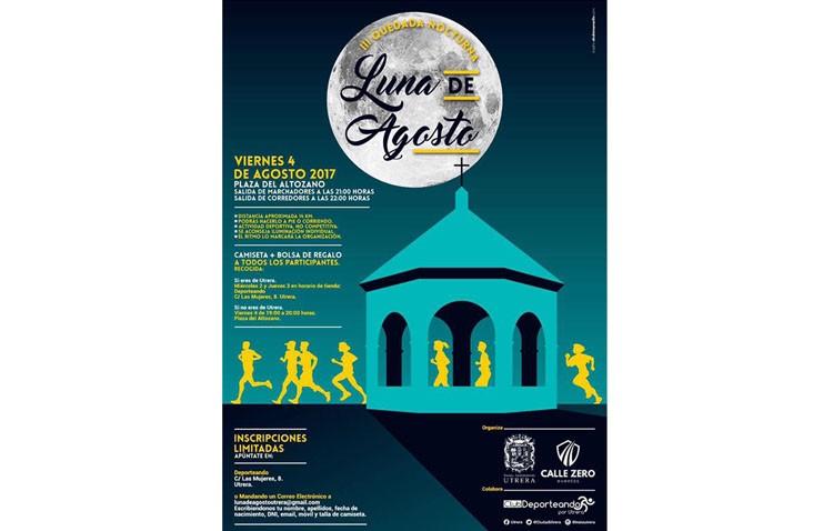 Noche de deporte en Utrera con «Luna de agosto»
