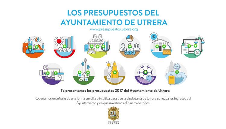 El Ayuntamiento de Utrera renueva la página web sobre los presupuestos municipales