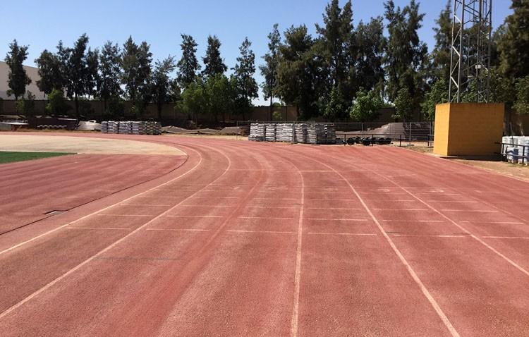 Comienza la renovación de la pista de atletismo del estadio de Vistalegre